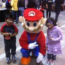 Rosmina and Aneesh with Mario