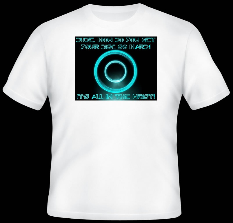 Win a How Do You Get Your Disc So Hard T-Shirt!